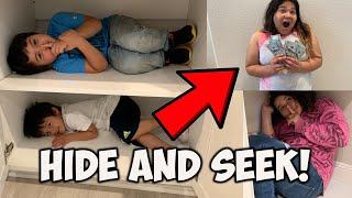 HIDE and SEEK WINNER GETS $1000!!!