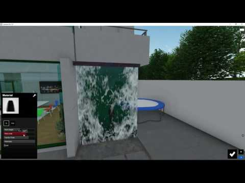 Materials: Waterfall Material - YouTube