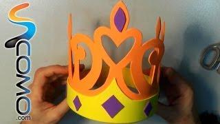 Cómo hacer una corona para niños de goma eva