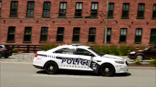 POLICE CARS IN SHERBROOKE QUEBEC