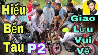 team Tú Nguyễn Vlogs hiếu bến tàu giao lưu xe điện độ vui vẽ P2