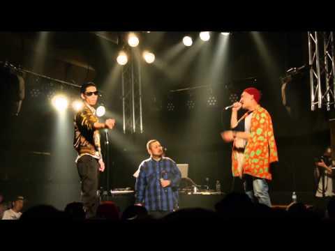 戦極MC BATTLE 第10章(14.10 .19)NAIKA MC vs 呂布カルマ@BEST BOUTその2