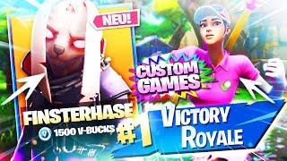 CUSTOM GAMES! + NEUE SKINS IM SHOP🔥🛒LIVE NEUER FORTNITE ITEM SHOP 21.4.19 | Fortnite Battle Royale