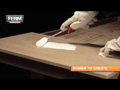 How to paint MDF