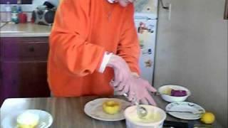 Real Women Of Philadelphia Contest - Sunshine Surprise Lemon Cream Cheese Cupcake