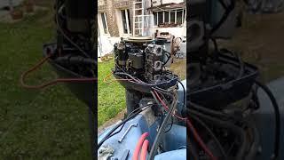 Redémarrage Yamaha 40cv 6h4 après réfection complète