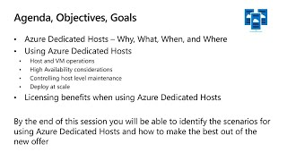 Azure Dedicated Host deep dive | BRK3126