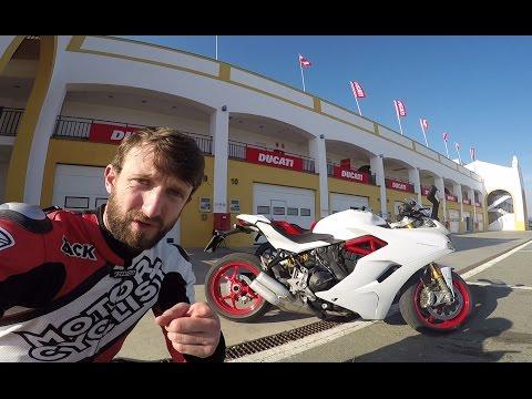 MC Commute - 2017 Ducati SuperSport First Ride