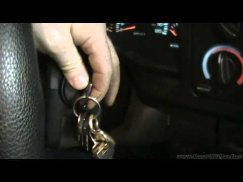How to dump error codes on your Dodge Ram Cummins Turbo Diesel using the key trick