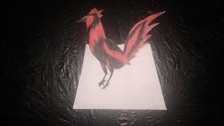 Cara menggambar 3d tiga dimensi gambar ayam