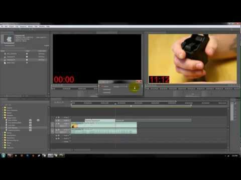 how to put timecode in premiere pro