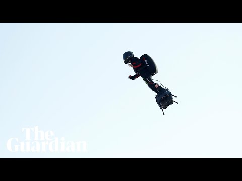 Jet-powered Flyboard Attempt To Cross Channel Fails