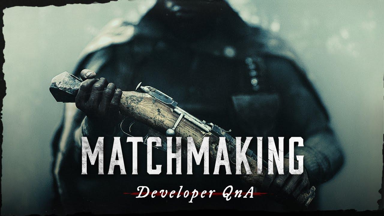 Matchmaking Changes I Developer QnA