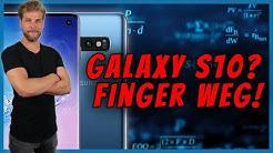 ACHTUNG: Galaxy S10 noch NICHT kaufen!