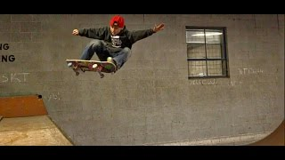 HOW TO FRONTSIDE OLLIE IN A MINI RAMP | WITH LAWSEN MILLER