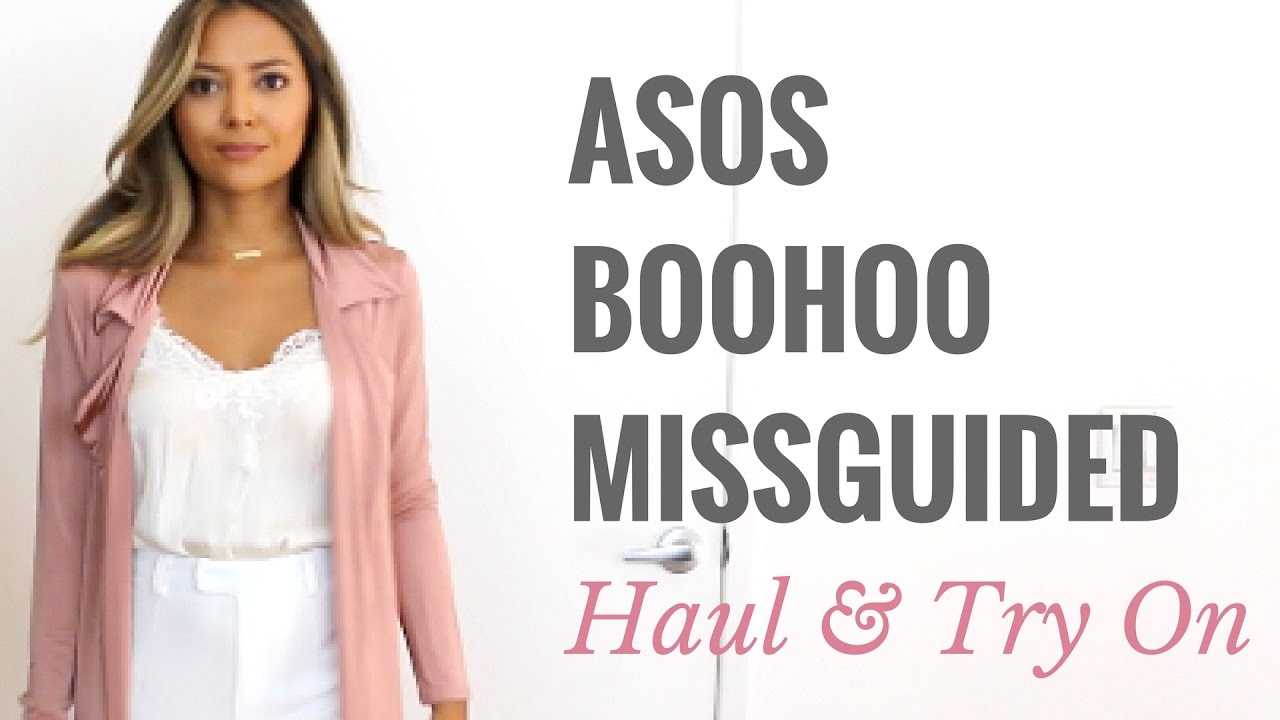68391ecc9a4a2 Asos Boohoo and Missguided Try On Haul - YouTube