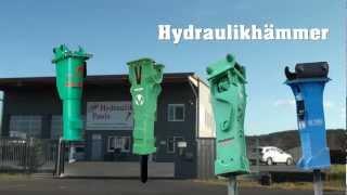 Hydraulik-Paule ! Ihr Spezialist für Baumaschinen und Abbruchwerkzeuge ! Hydraulikhammer