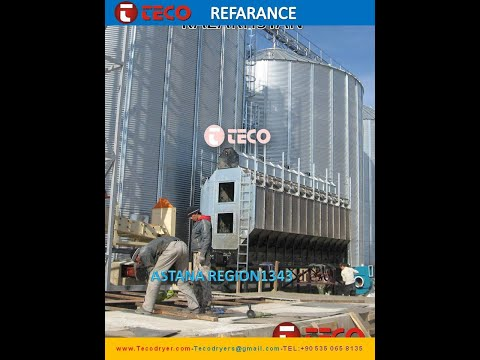 grain dryer grain systems grain silo misir kurutma29