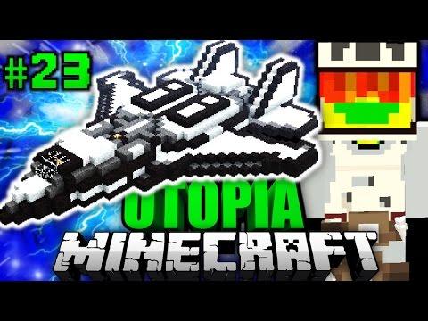 Neues RAUMSCHIFF GEKAUFT?! - Minecraft Utopia #023 [Deutsch/HD]