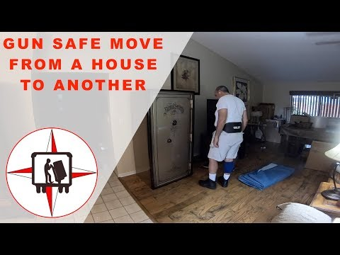 HOW TO MOVE A HEAVY SAFE FROM ONE HOUSE TO ANOTHER