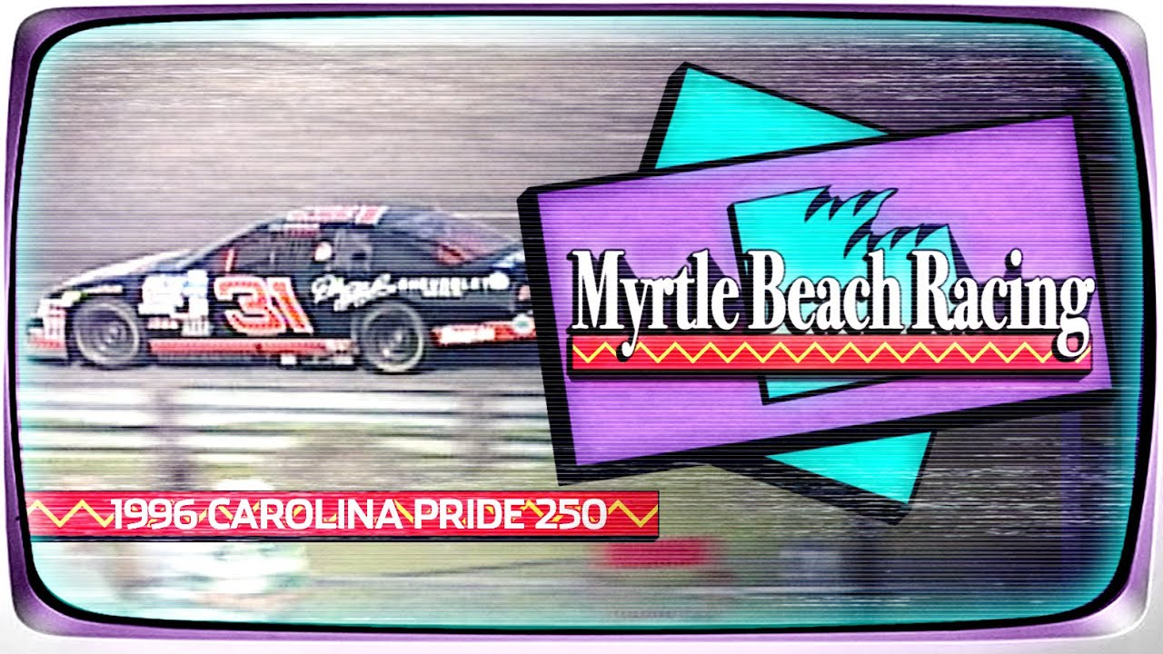 Dale Earnhardt Jr.'s first Xfinity Series Start | 1996 Carolina Pride 250 from Myrtle Beach