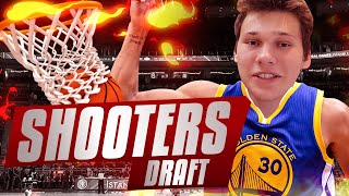 THE BEST SHOOTERS DRAFT!! NBA 2K16 DRAFT