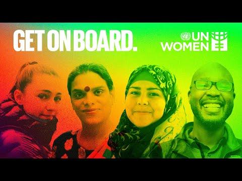 Get on board for gender equality