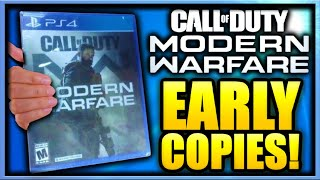 Modern Warfare Early Copies  Leaked Gameplay Call Of Duty Modern Warfare Gameplay Leaked Early