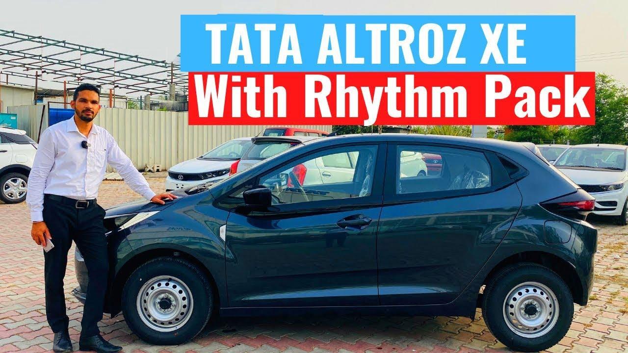 2020 Tata Altroz XE Rhythm Walkaround   Tata Altroz Price   New Tata Altroz review   carquest