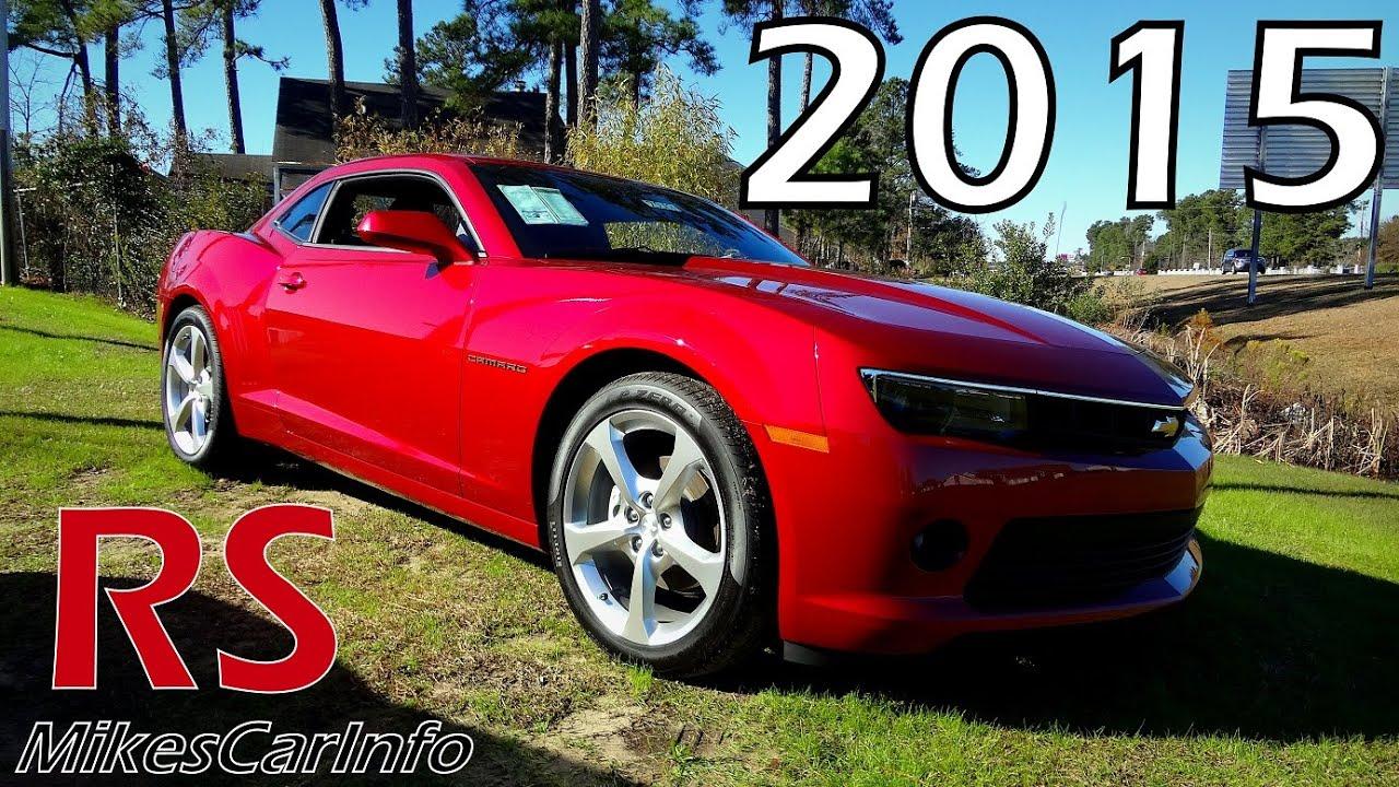 2015 chevrolet camaro 2dr cpe lt w/1lt - youtube