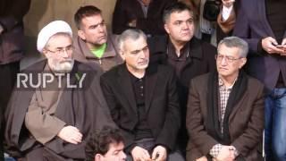 Iran: Hundreds of mourners gather to remember Akbar Hashemi Rafsanjani