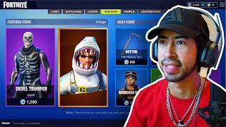 Fortnite *NEW* Skins: CHOMP SR. Shark Skin (7/21/2018)