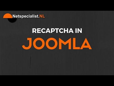Recaptcha In Joomla
