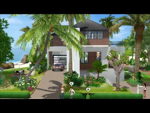 The sims 3 house building tropicana 30 dutchsims 3 for Beach house 3 free download