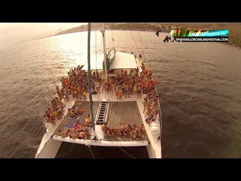 MIF  MALLORCA ISLAND FESTIVAL   Catamarán Boat Party