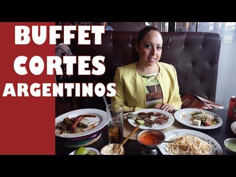 Buffet de carnes - Cortes argentinos