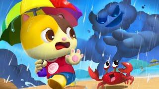 あめ あめ あっちいけ☆Rain Rain Go Away | 人気英語童謡 | 赤ちゃんが喜ぶ歌 | 子供の歌 | 童謡 | アニメ | 動画 | ベビーバス| BabyBus