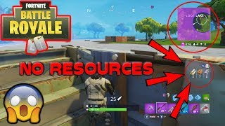 NO RESOURCES WITH 4 LEFT!! // FORTNITE BATTLE ROYALE DUOS GAMEPLAY
