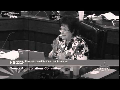 AZ Sen  Sylvia Allen Wants a Bill to Consider Implementing Sunday Worship
