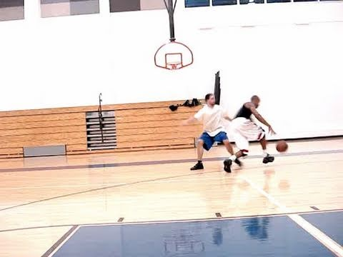 Dre Baldwin: 1-On-1 Game Clip #82 | Gilbert Arenas Move Behind-The-Back Crossover Finishing Layup