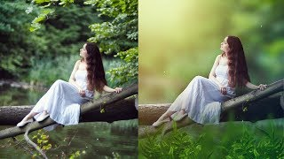 Photoshop tutorial/How to edit outdoor photo/How to retouch outdoor photo