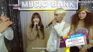 Download Video [ENG SUB] 140214 SNSD Taeyeon + ShiNee Jonghyun - Backstage Interview @ MB MP3 3GP MP4