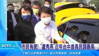 最新縣市長民調 盧秀燕「六都唯一」滿意度進步|三立新聞台