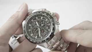 Review CASIO EDIFICE EF-554SP-1 by www.siam-naliga.com