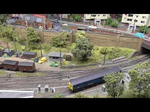 "N Gauge Model Railway Layout ""Lymebrook Yard"" by Steve Farmer"