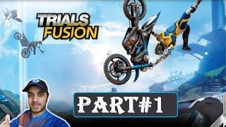 A FUN GAME | TRIALS FUSION GAMEPLAY |FACE CAM| PART 1 PS4 | HINDI