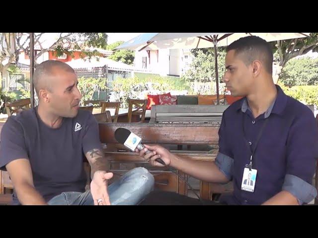 Jonathan Marques em entrevista com Tolentino Reis
