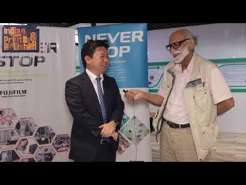 Fujifilm India Graphic Arts Head Kentaro Imafuku says – Never Stop Printing