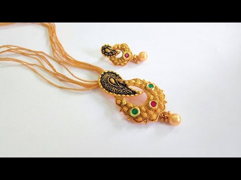 Modern Antique Jewel Collections || Latest Indian Jewellery Designs
