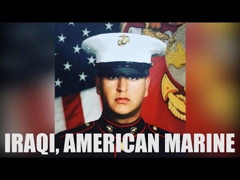 Iraqi, American to Marine